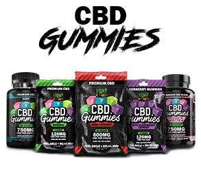 cbd gummies product shot for cbd edibles page