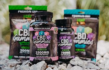 Hemp Bombs CBD Gummies Line