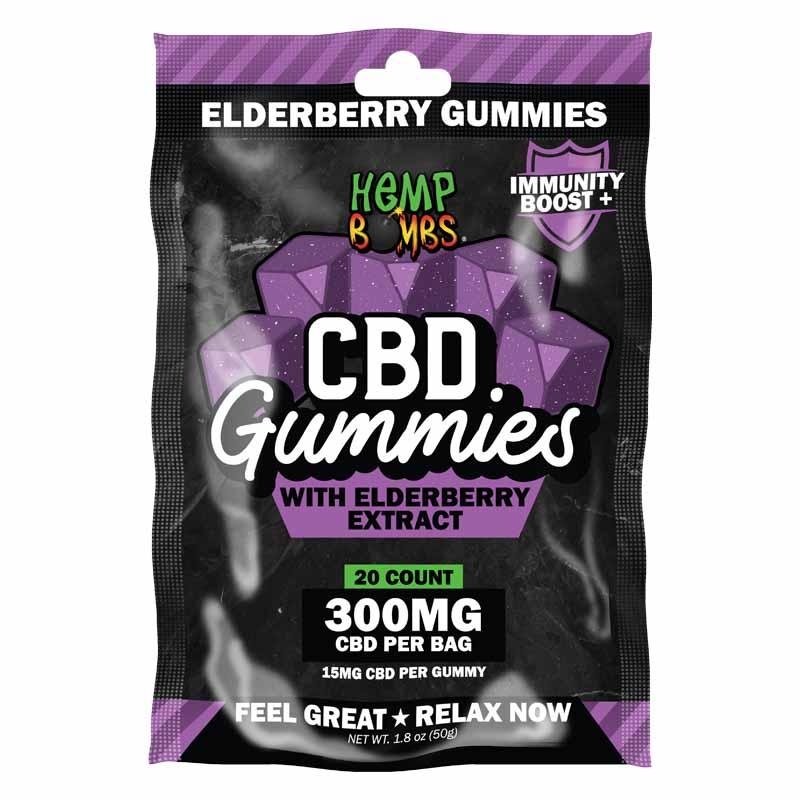 20-Count CBD Immunity Gummies